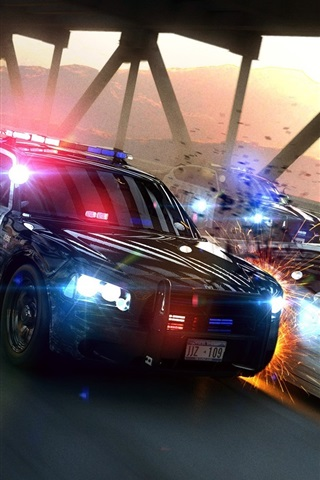 iPhone Papéis de Parede Need For Speed: Most Wanted, jogo HD