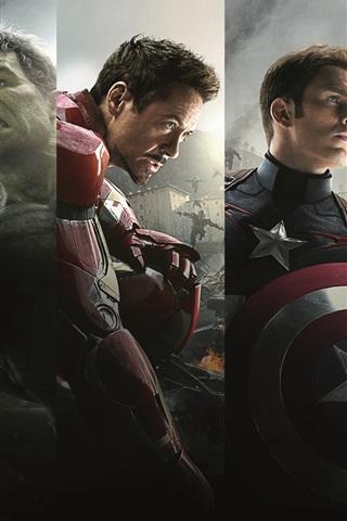 iPhone Wallpaper 2015 Marvel movie, Avengers 2