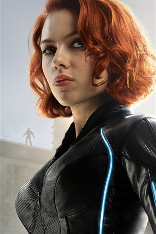 iPhone Wallpaper Scarlett Johansson, Avengers: Age of Ultron