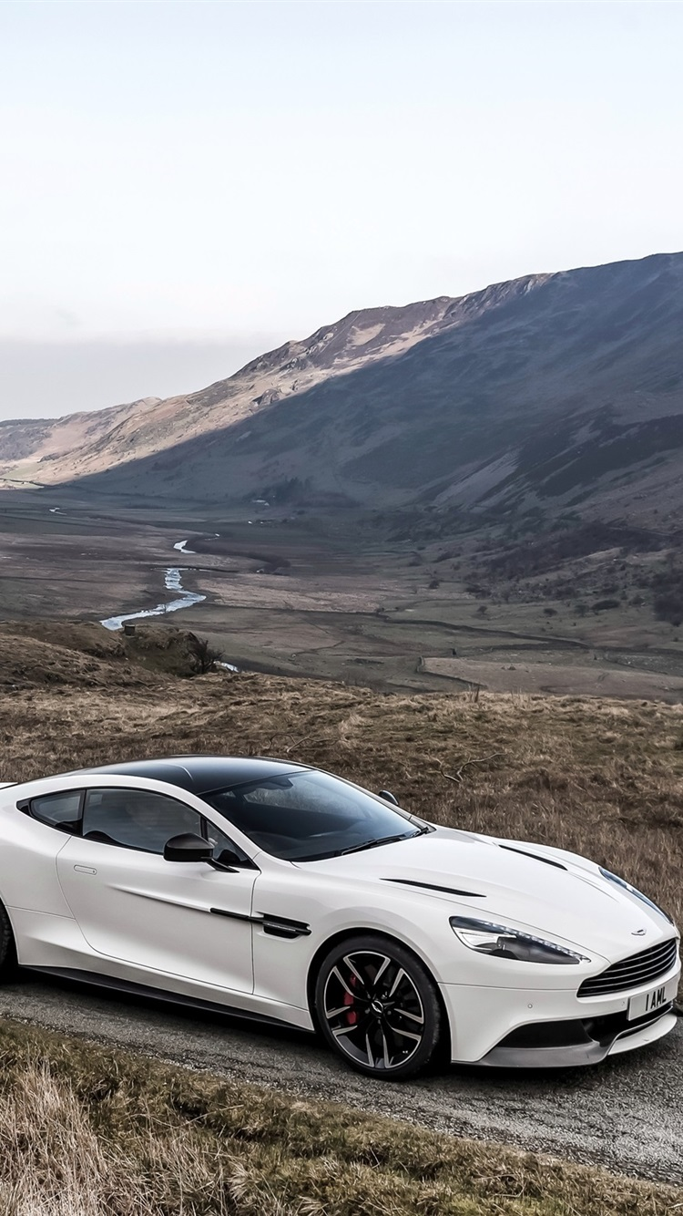 2014 Aston Martin Vanquish Carbon White Supercar 750x1334 Iphone 8 7 6 6s Wallpaper Background Picture Image