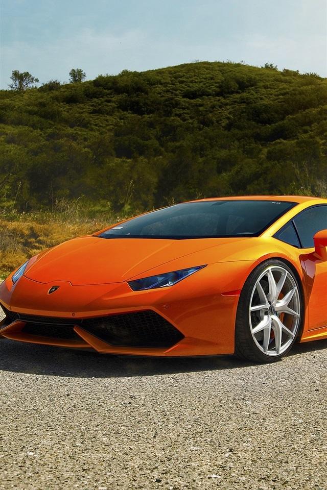Wallpaper Lamborghini Huracan Lp640 4 Diamond Edition Orange Supercar 2560x1600 Hd Picture Image