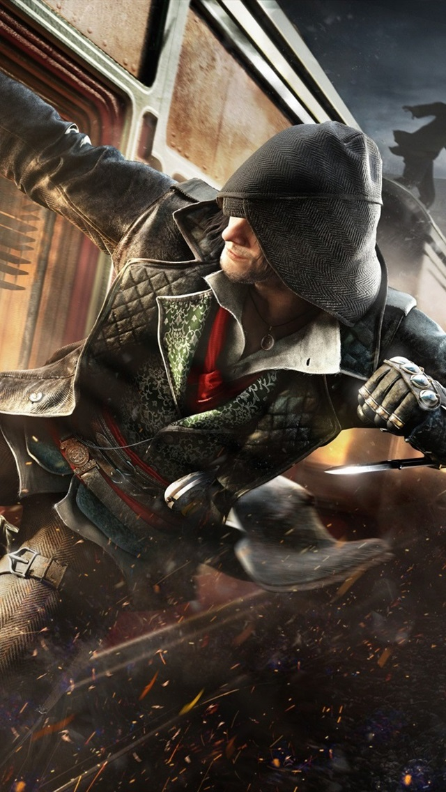 Wallpaper Assassin S Creed Syndicate Action Train 1920x1200 Hd Picture Image
