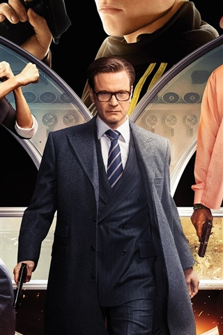 iPhone Hintergrundbilder Kingsman: Der Secret Service