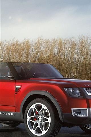 iPhone Papéis de Parede Conceito Land Rover carro