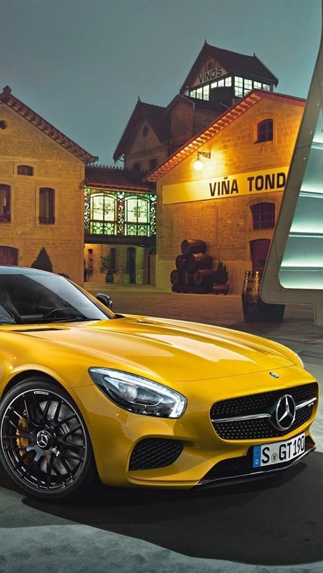 Mercedes Benz Amg Gt 2015 Gelb Supercar 1920x1200 Hd