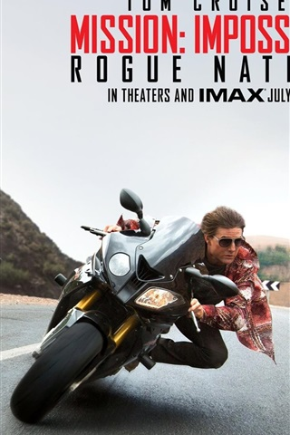 iPhone Wallpaper Mission: Impossible, Rogue Nation, 2015 movie