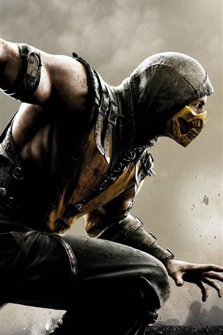 iPhone Papéis de Parede Mortal Kombat X, jogo HD