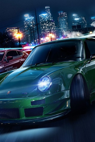iPhone Wallpaper Need for Speed, 2015 game