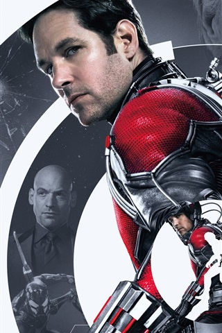 iPhone Wallpaper Ant-Man, Paul Rudd