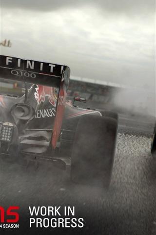 iPhone Papéis de Parede F1 2015, carros de corridas