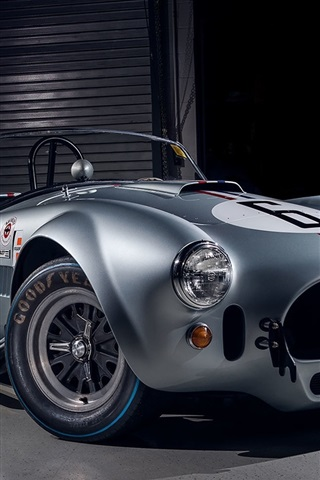 iPhone Wallpaper Shelby Cobra, retro car