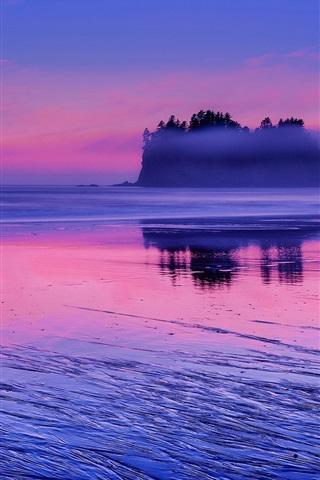 6382b7cd48311 iPhone Papéis de Parede EUA, Washington, Oceano Pacífico, água do mar, por
