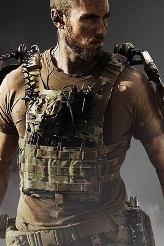 iPhone Papéis de Parede Call of Duty: Avançado guerra, soldado