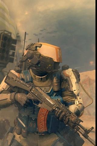 iPhone Papéis de Parede Call of Duty: Black Ops III, jogo para PC