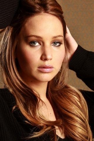 iPhone Hintergrundbilder Jennifer Lawrence 05