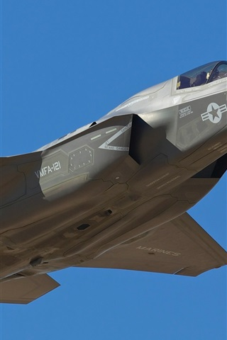 iPhone Wallpaper F-35B aircraft