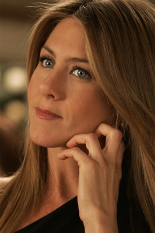 iPhone Wallpaper Jennifer Aniston 02