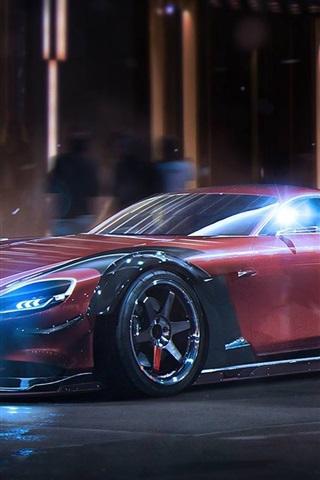 iPhone Papéis de Parede Conceito Mazda RX-Vision supercar
