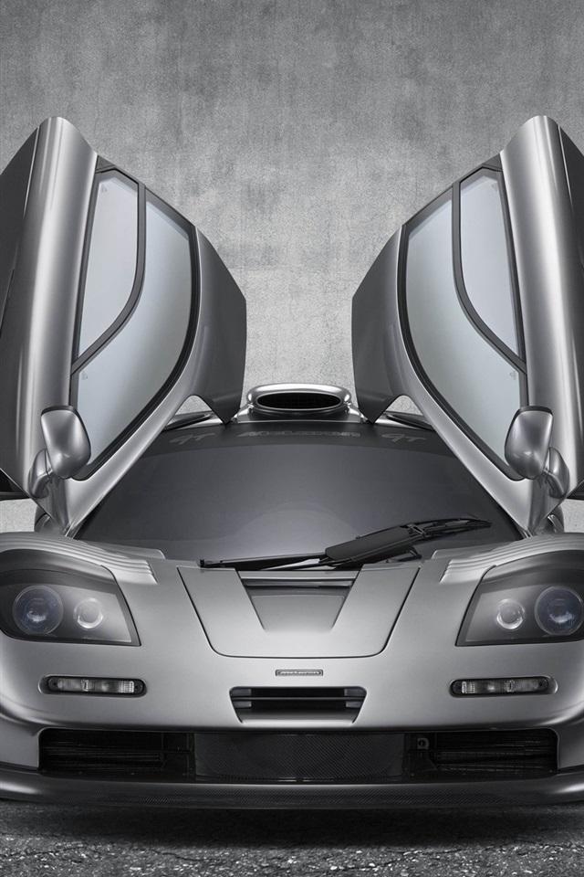 マクラーレンf1 Gtスーパーカー 翼 750x1334 Iphone 8 7 6 6s 壁紙 背景 画像