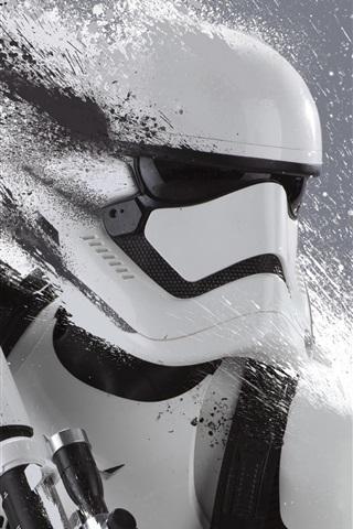 iPhone Wallpaper Star Wars Episode VII: The Force Awakens, robot