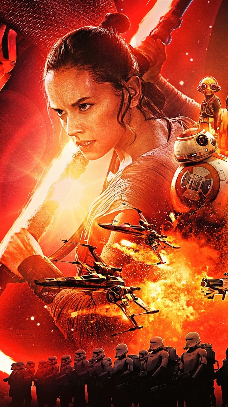 Star Wars Episode Vii The Force Awakens 750x1334 Iphone 87