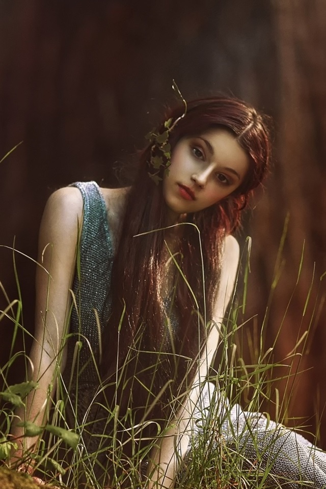 Wallpaper Like Elf Girl In Forest Long Hair 1920x1200 Hd