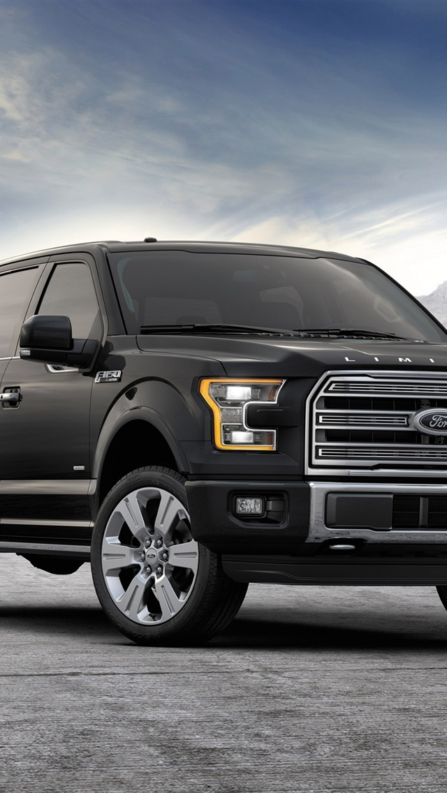 2015 Ford F 150 Black Jeep 750x1334 Iphone 8 7 6 6s Wallpaper Background Picture Image