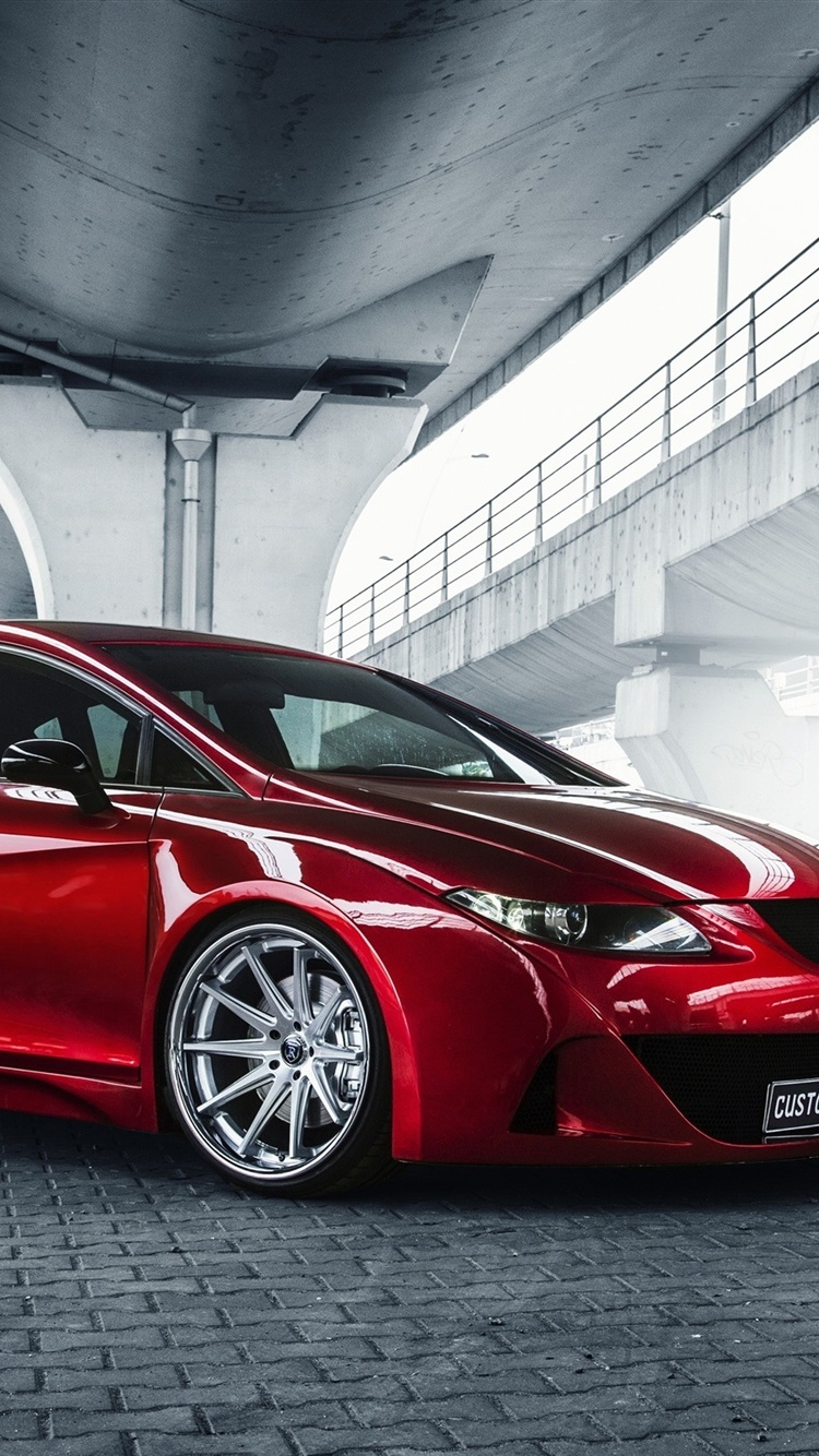 Wallpaper Seat Leon Red Car 2560x1600 Hd Picture Image