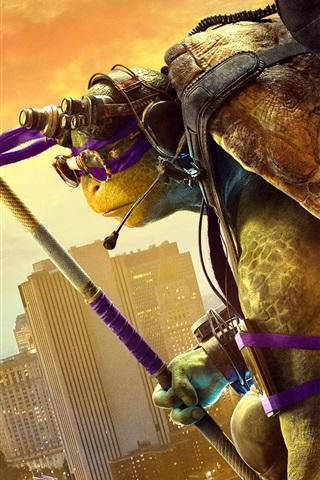 iPhone Wallpaper Teenage Mutant Ninja Turtles: Out of the Shadows