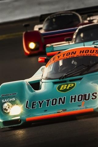 iPhone Wallpaper Cool F1 sports car