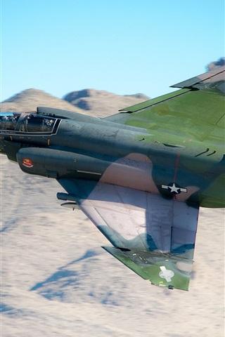 iPhone Wallpaper F-4 Phantom II multipurpose fighter
