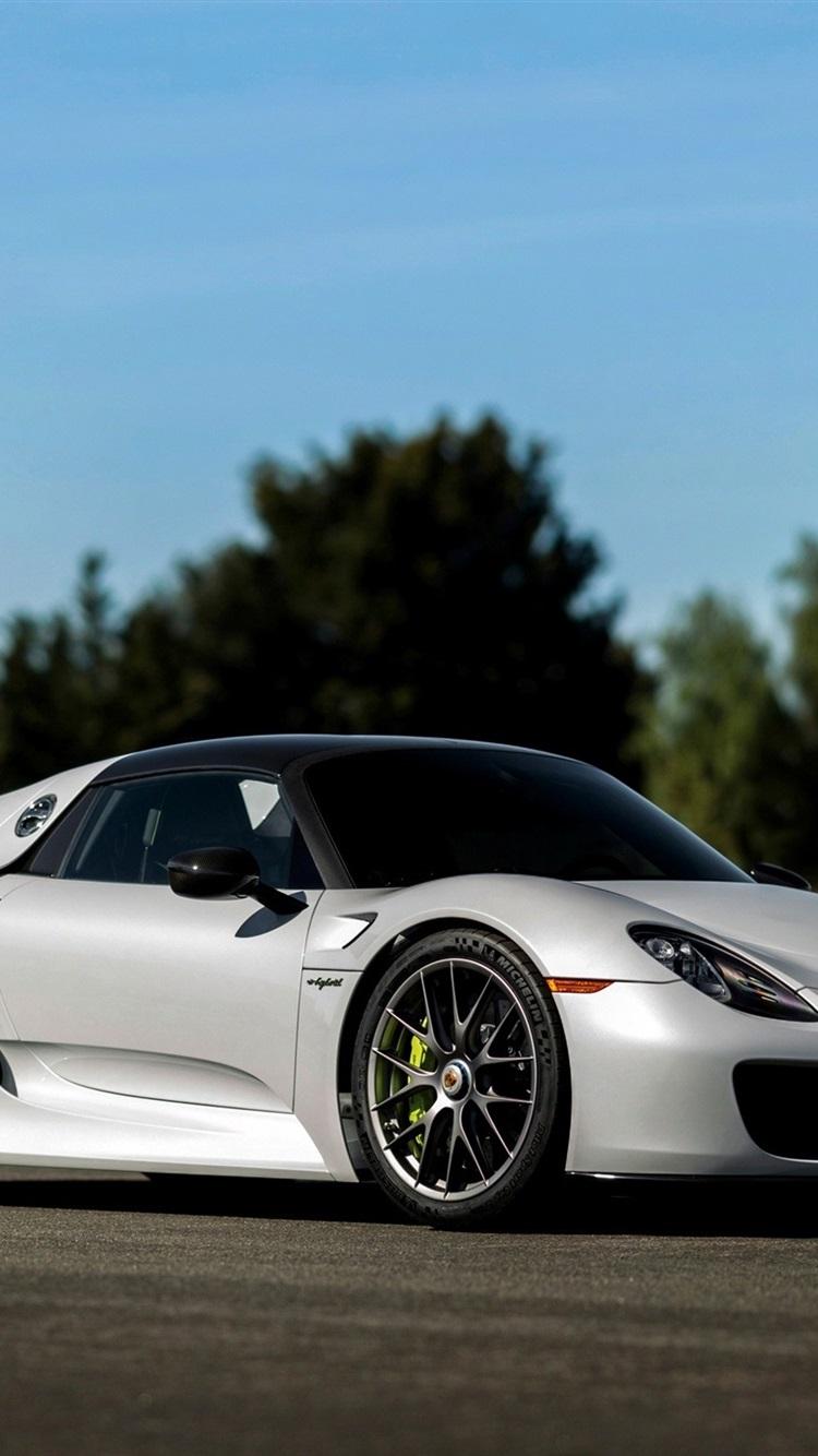 Porsche 918 Spyder Supercar 750x1334 Iphone 8 7 6 6s Wallpaper