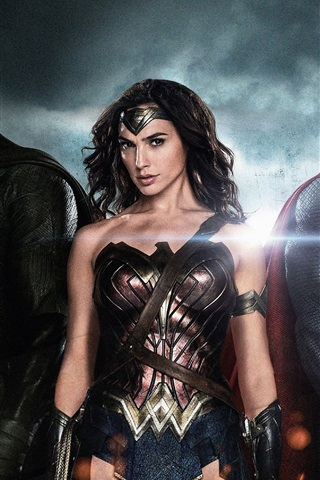 iPhone Обои 2016 Бэтмен V Супермен: Рассвет Справедливости