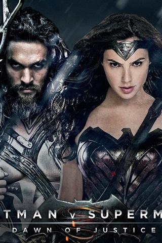 iPhone Hintergrundbilder Batman v Superman: Dawn of Justice, Film 2016
