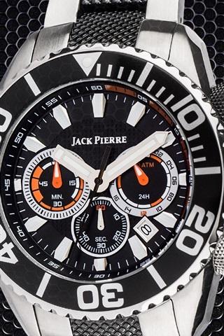 iPhone Papéis de Parede Jack Pierre relógios, metal, fresco