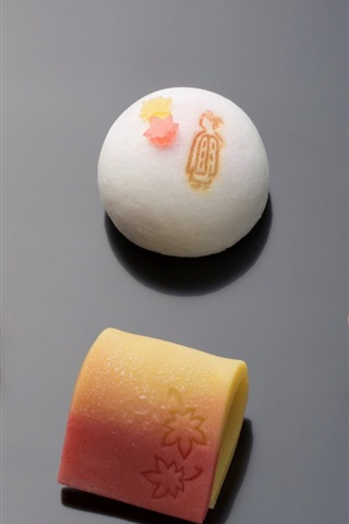 iPhone Wallpaper Japanese confectionery, food, sweet