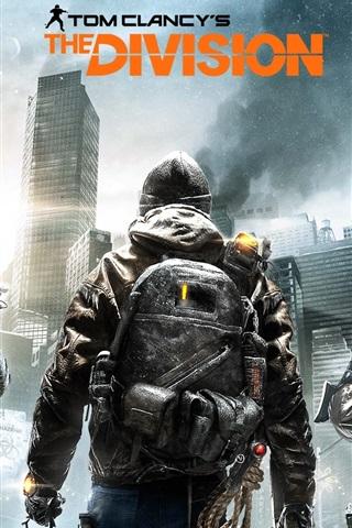 iPhone Papéis de Parede A Divisão de Tom Clancy, widescreen jogo