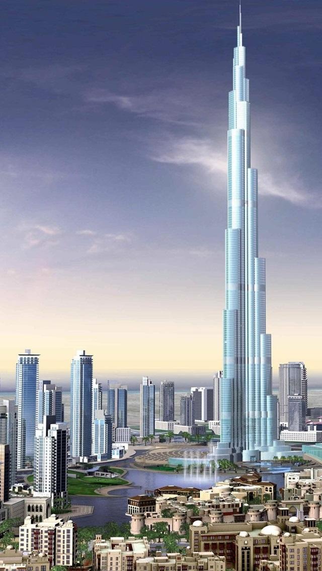 3d Renderings Burj Khalifa Buildings Dubai 640x1136