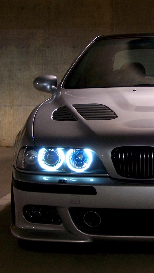 Bmw E39 M5 Blue Angel Eyes 750x1334 Iphone 8 7 6 6s Wallpaper Background Picture Image