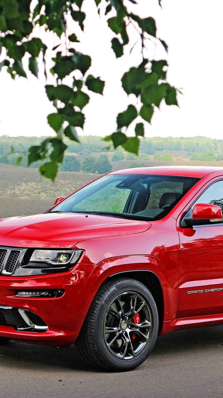 Wallpaper Jeep Grand Cherokee Red Suv 2560x1600 Hd Picture Image