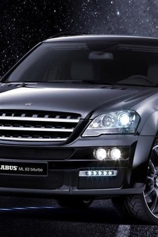 Fonds D Ecran Mercedes Benz Classe M Ml 63 Brabus Voiture
