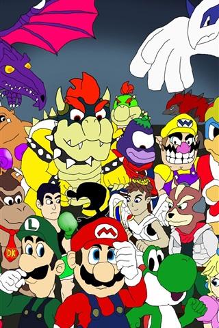 iPhone Wallpaper Nintendo games character tribute