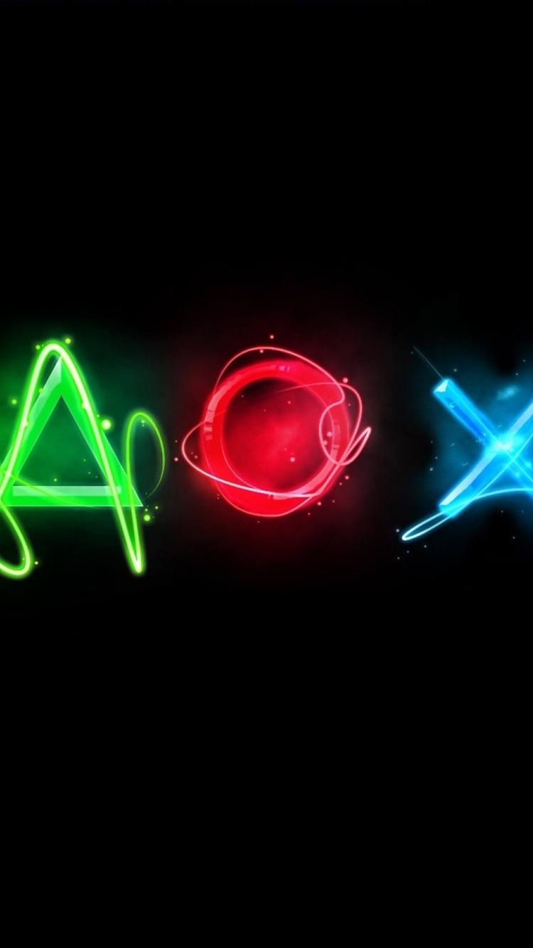 Wallpaper Playstation Colorful Logo Black Background 2560x1600 Hd Picture Image