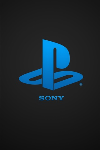 iPhone Papéis de Parede Sony Playstation logotipo azul