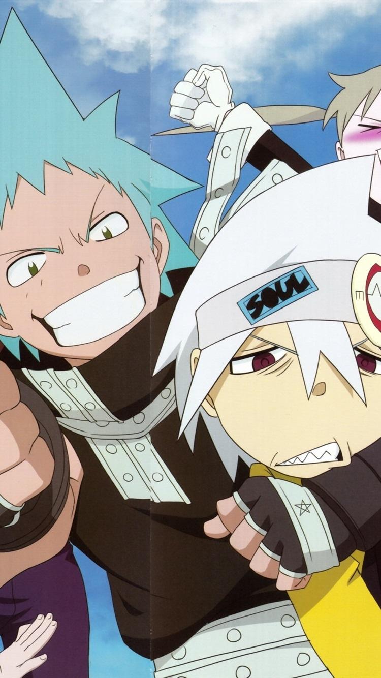 Soul Eater Anime Cartoon 750x1334 Iphone 8 7 6 6s