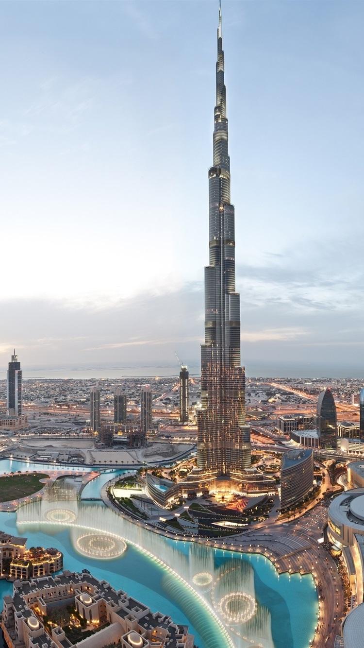 World S Tallest Building Burj Khalifa Dubai 750x1334