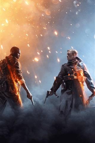 iPhone Wallpaper Xbox game 2016, Battlefield 1