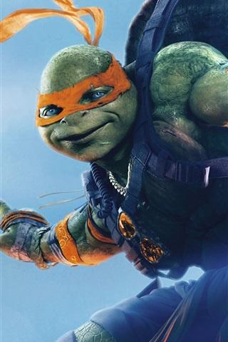iPhone Wallpaper 2016 movie, Teenage Mutant Ninja Turtles 2