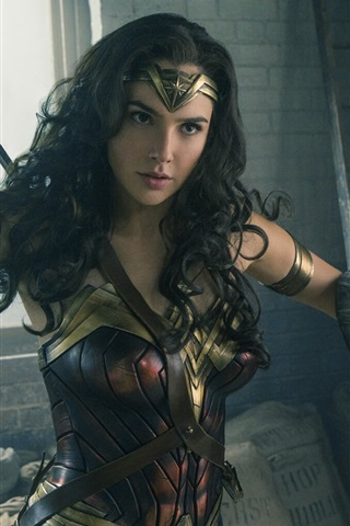 iPhone Hintergrundbilder 2017 Gal Gadot in Wonder Woman