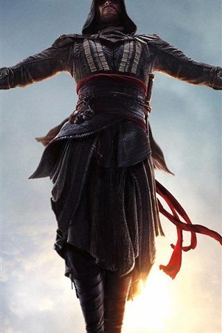 iPhone Wallpaper Assassin's Creed, jump